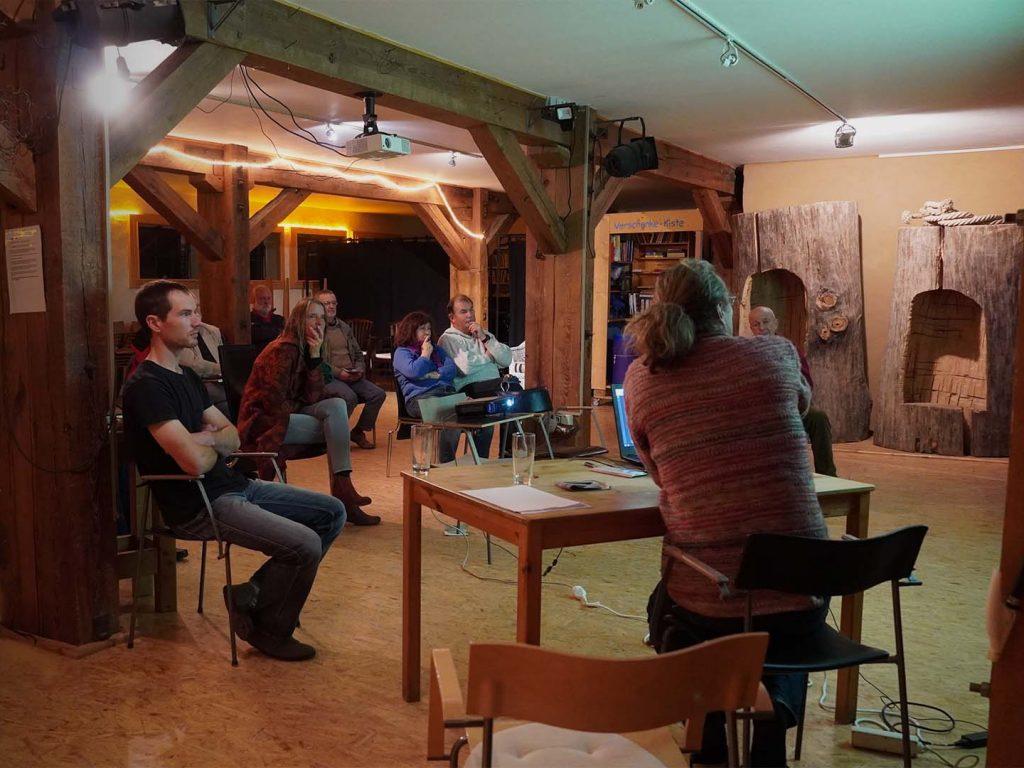 Workshop im Saal