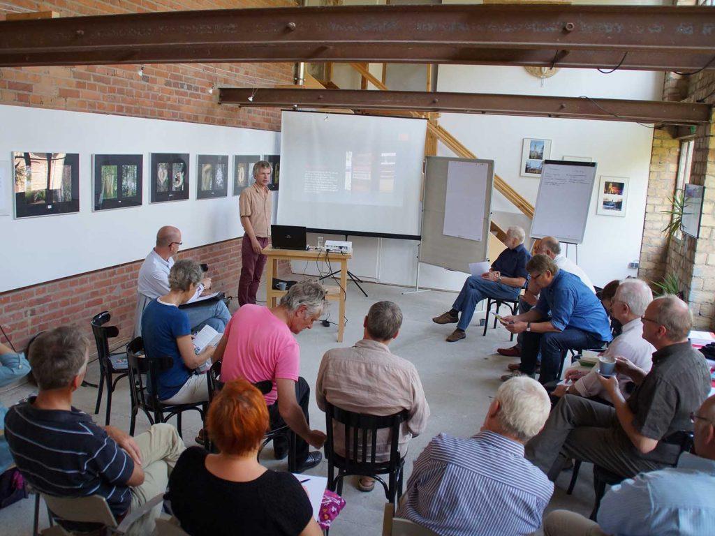 Seminar im Galerie-Anbau